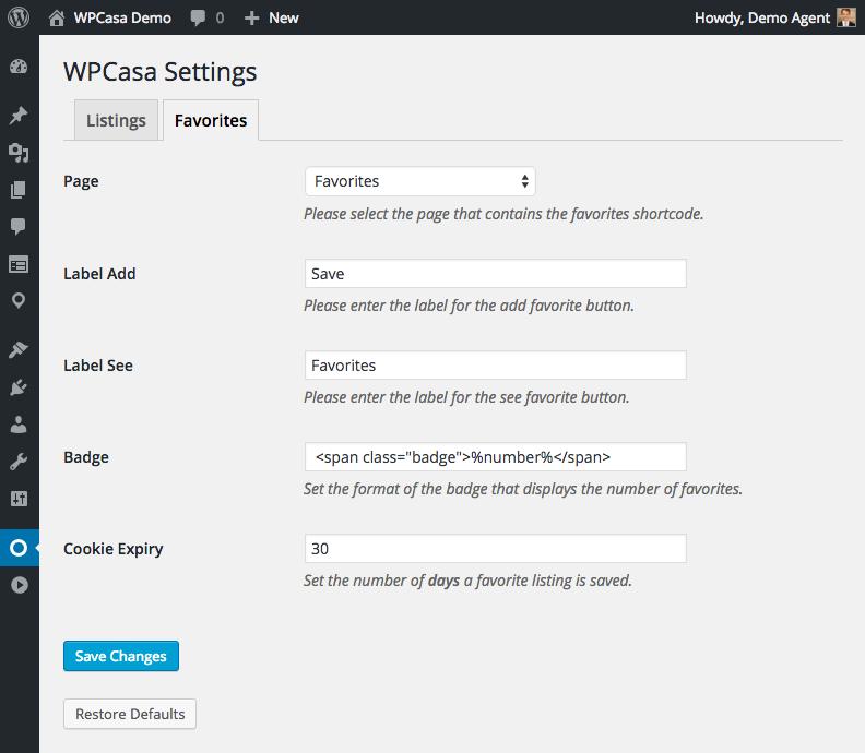 wpcasa-favorites-settings