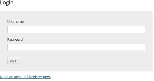 wpcasa-dashboard-login-shortcode